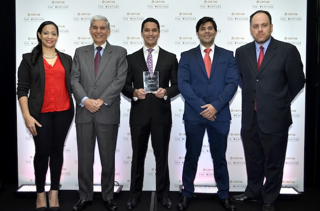 Roselyn O'Neil, Alfonso Aguayo, Julio Pou Francisco García y Juan Carlos González