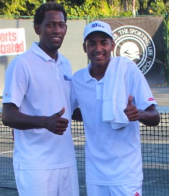 Edwin Guerrero, Pedro Nolasco, Casa de Campo tennis