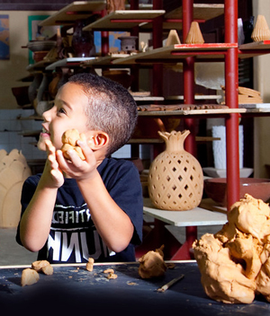 ceramics workshop Altos de Chavon