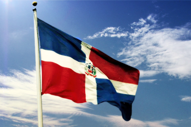 Republica Dominicana bandera