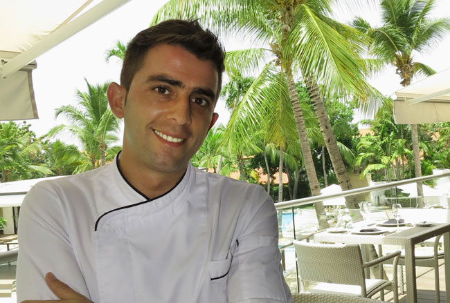 Anthony Masas Executive chef Casa de Campo