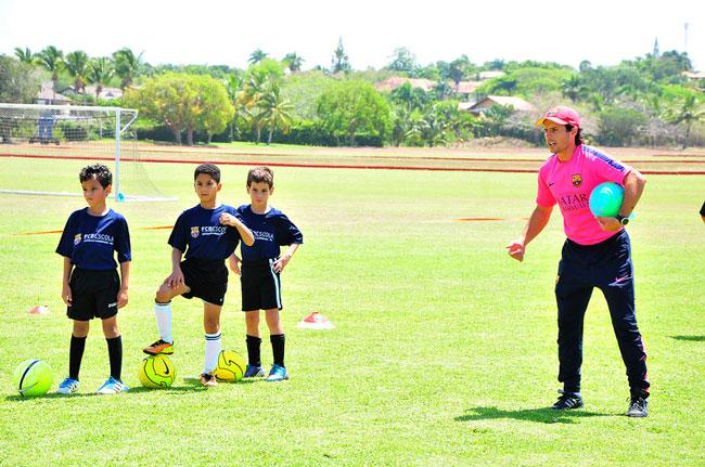 Casa de Campo FCBEscola soccer