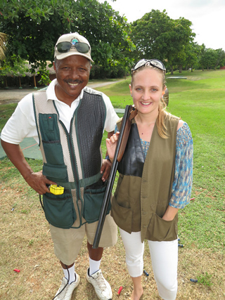 Rebecca Hughes, Casa de Campo shooting center