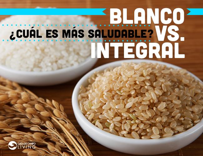 Arroz Blanvo vs. Integral
