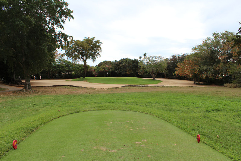 Teeth of the Dog, Hole #13 Tee