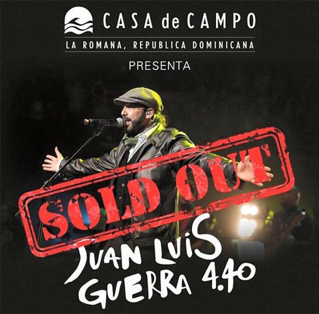 Juan Luis Guerra Sold Out