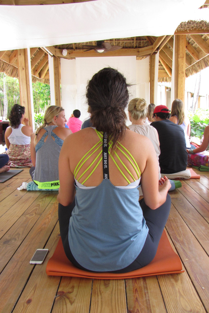 Yoga class Casa de Campo