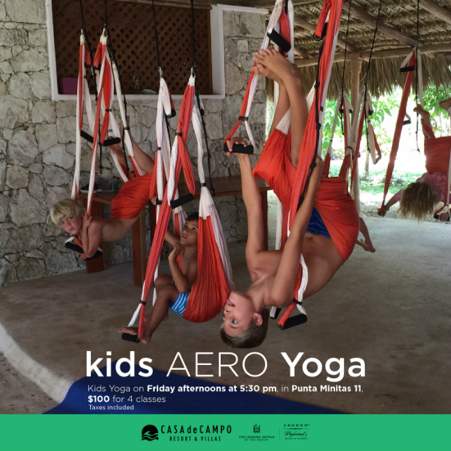 Aero Yoga for Kids Flyer