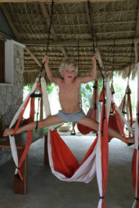 Aero Yoga for Kids vertical