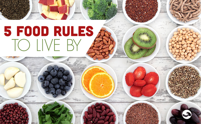 Food Rules to Live by