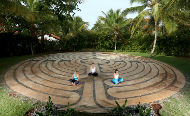 Casa de Campo Spa Labyrinth Group