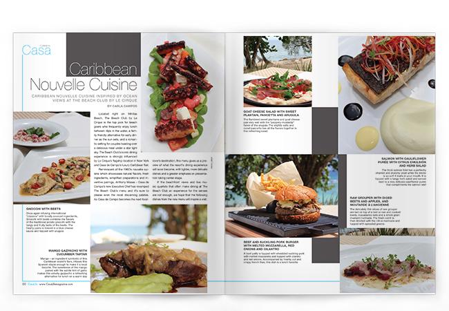 CasaLife Caribbean Cuisine spread