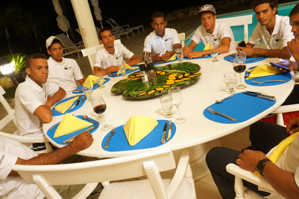 boys dinner