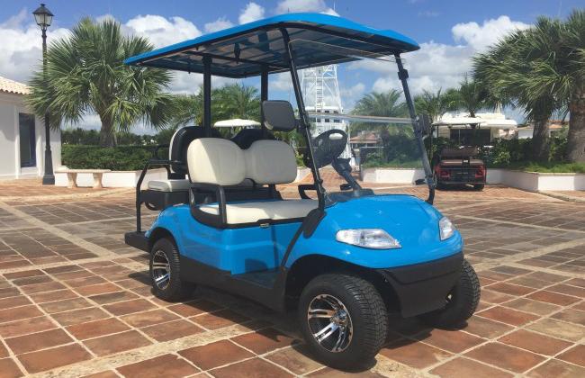 Eco Planeta Caribe Golf Cart