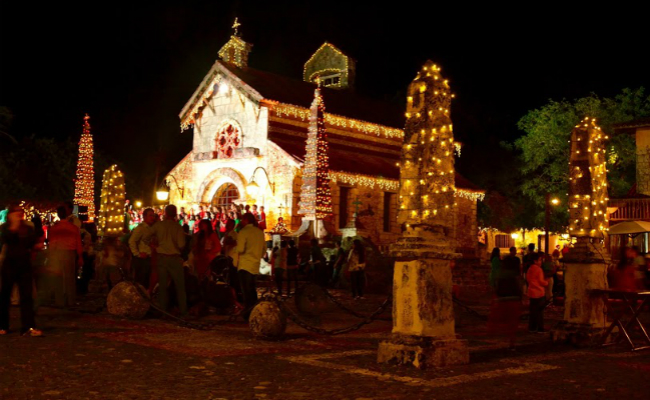 Christmas Lighting Ceremony at Altos de Chavón