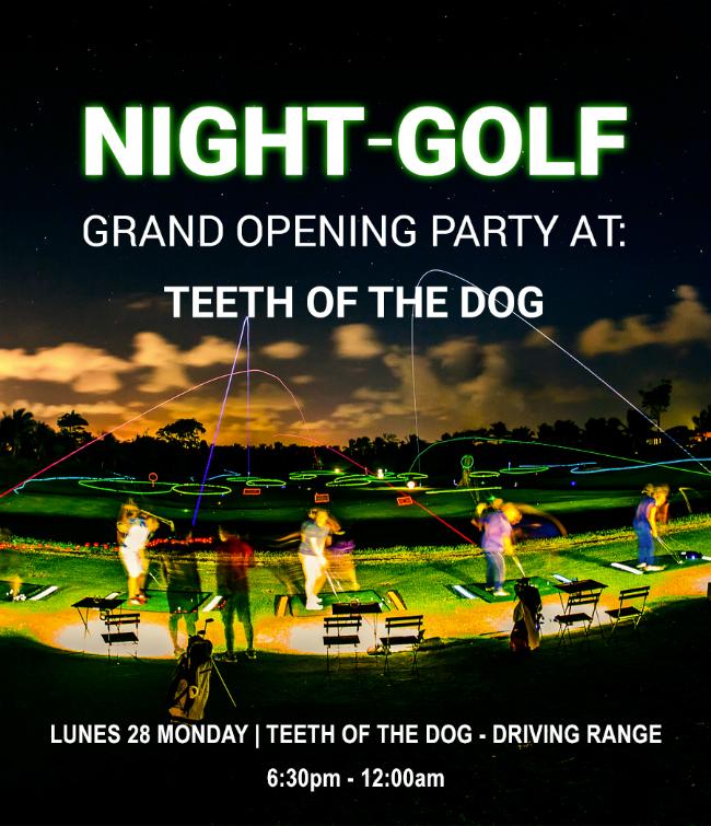 Night Golf at Casa de Campo Flyer1