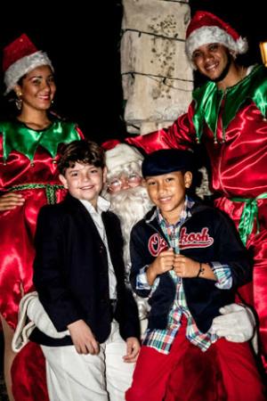 Santa Claus at Altos de Chavón