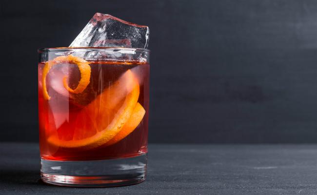 Campari Negroni Cocktail