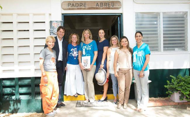 Celebs in Casa 2015 - Salvatore & Christine Ferragamo and Mira Sorvino & Christopher Backus