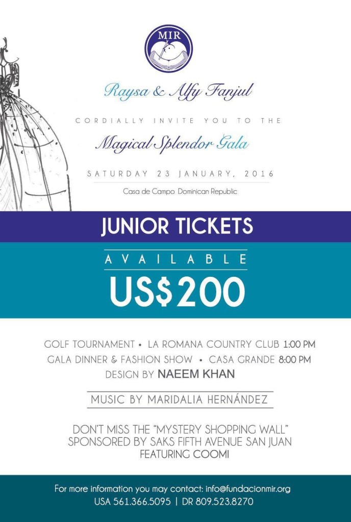 Junior Tickets MIR