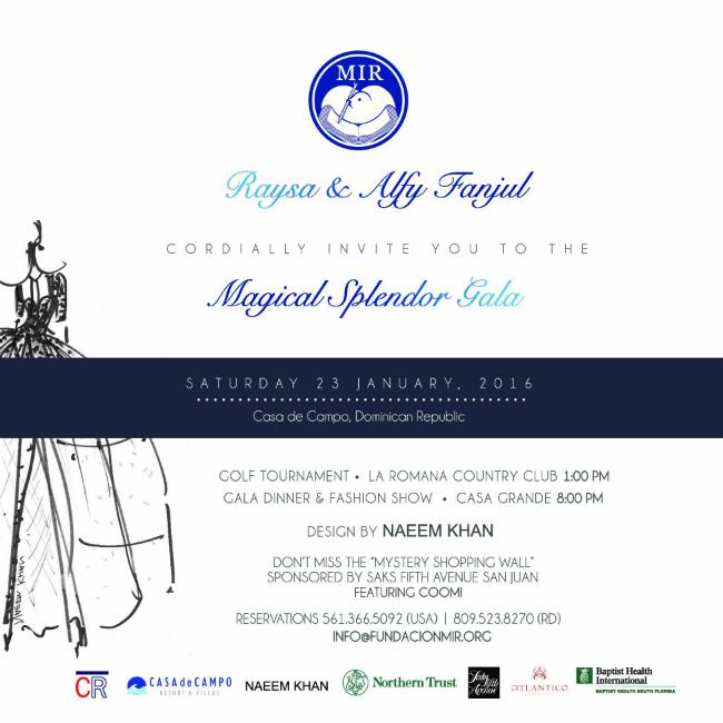 Invitación Gala English