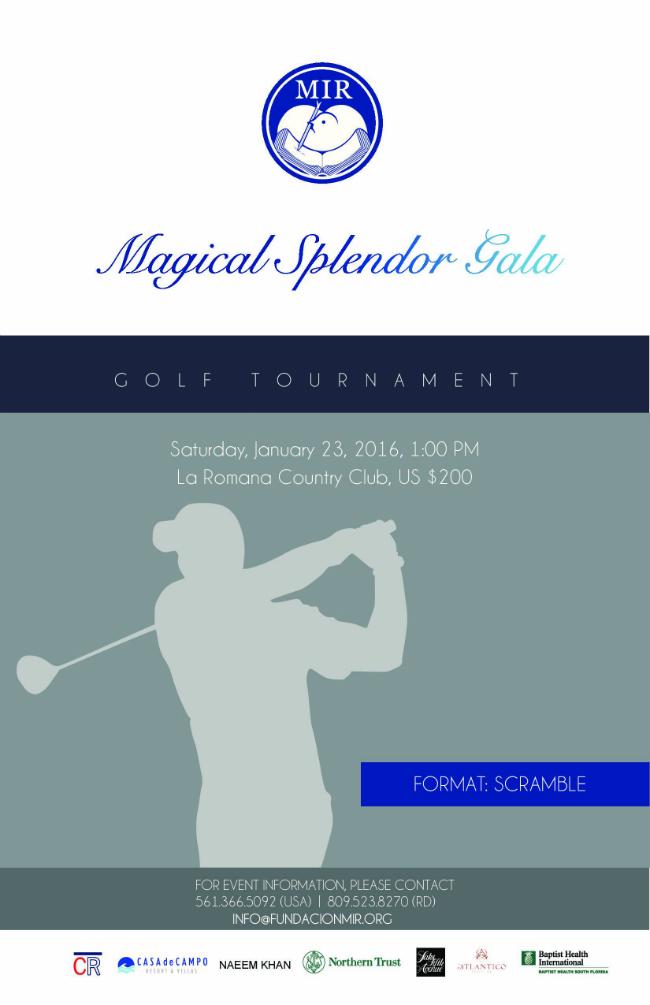 Splendor Gala Golf Tournament
