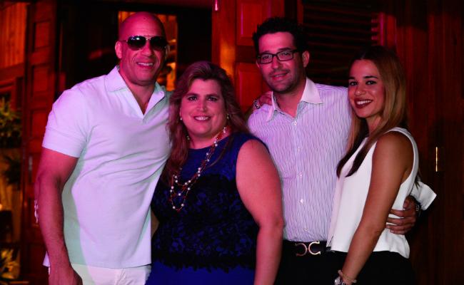Vin Diesel and Lyanne Azqueta