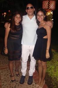 Vin Diesel and Mariana Heredia
