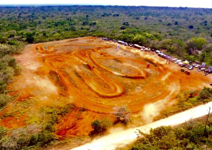 Aerial View of the Tracik - New Motocross Track