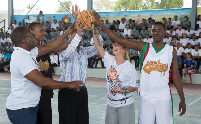 Basketball Court - PBO New Sports Center