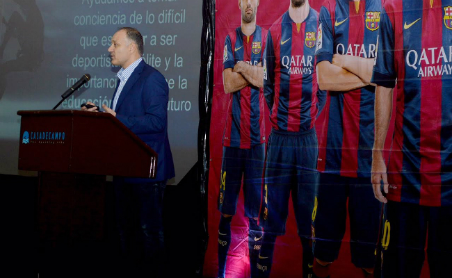 Carles Folguera FCBEscola Conference