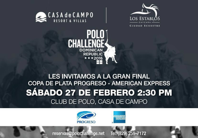 DR Polo Challenge Finals Flyer