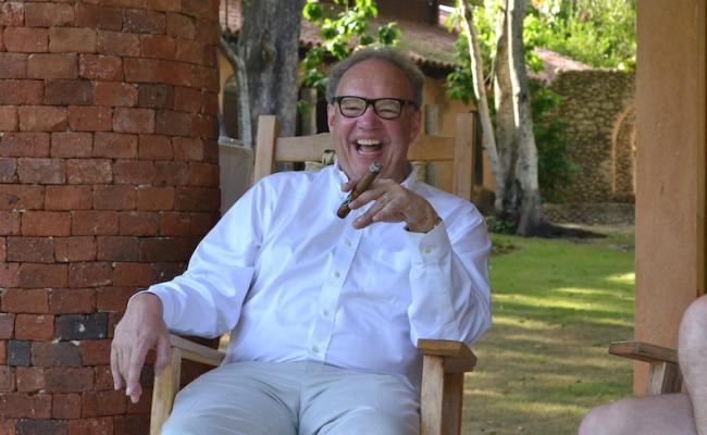 Davidoff CEO, Hans-Kristian Hoejsgaard - Davidoff Art Gourmet Cocktail