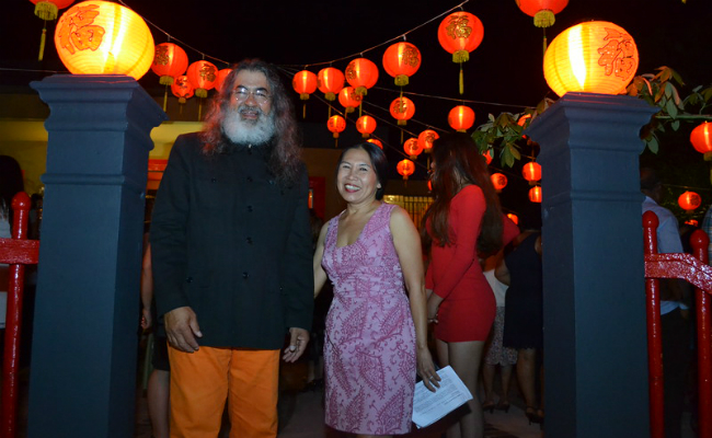 Eduardo Bello and Susana Joa - Chinois Re-Opening