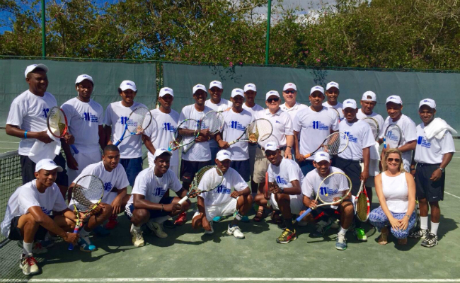 Group Photo - McDaniels Tennis Tournament 2016