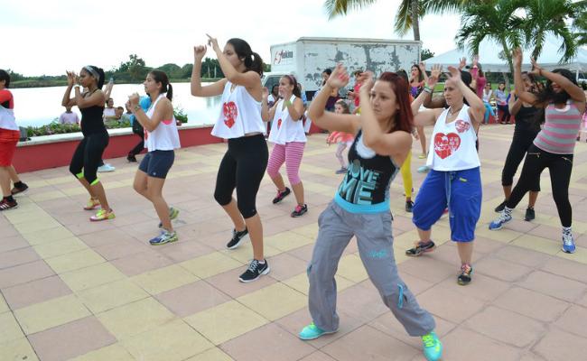 Hogar del Niño Fitness Class