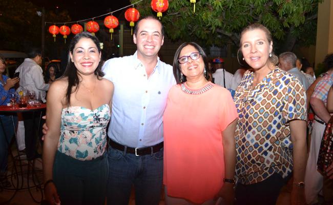 Jorge and Carolina Sturla - Chinois Re-Opening