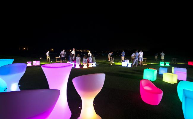 Light Seats Night Golf - Feb. 26 2016