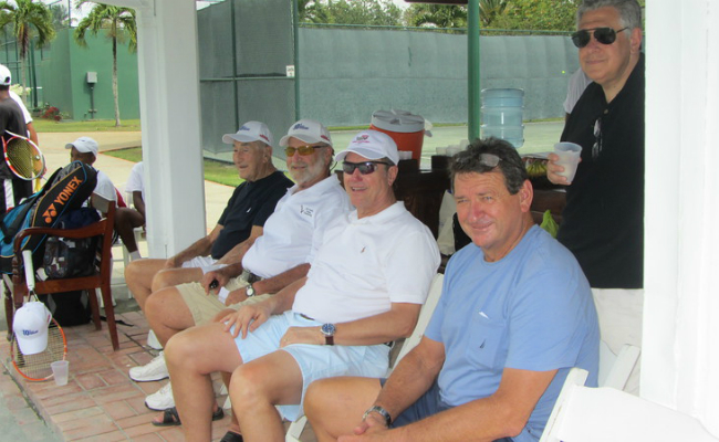 Men Group - McDaniels Tennis Tournament 2016