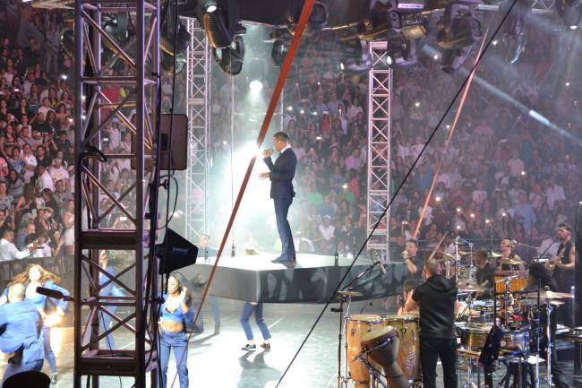 Ricky Martin concert in Altos de Chavon