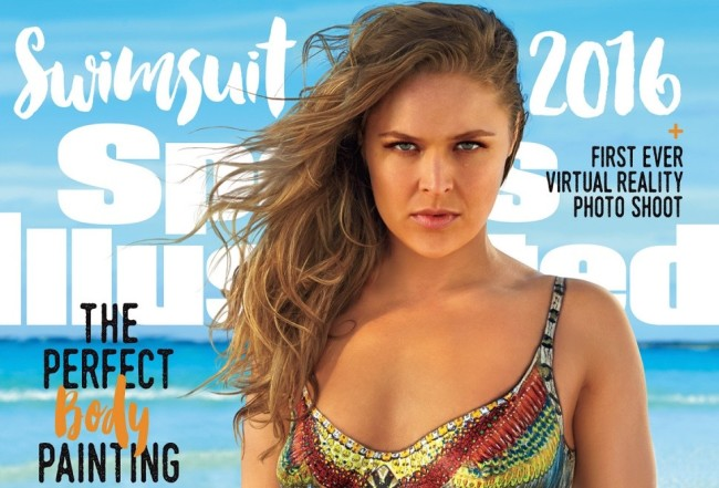 Ronda Rousey Sports Illustrated 2016 Cover