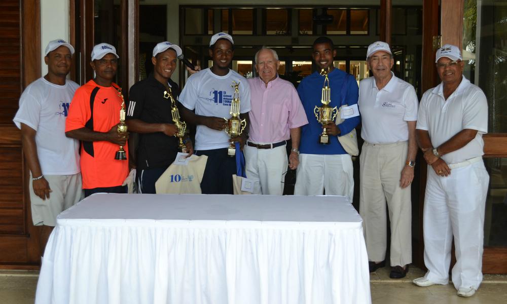 Awards — McDaniel Tennis Tournament Big Success