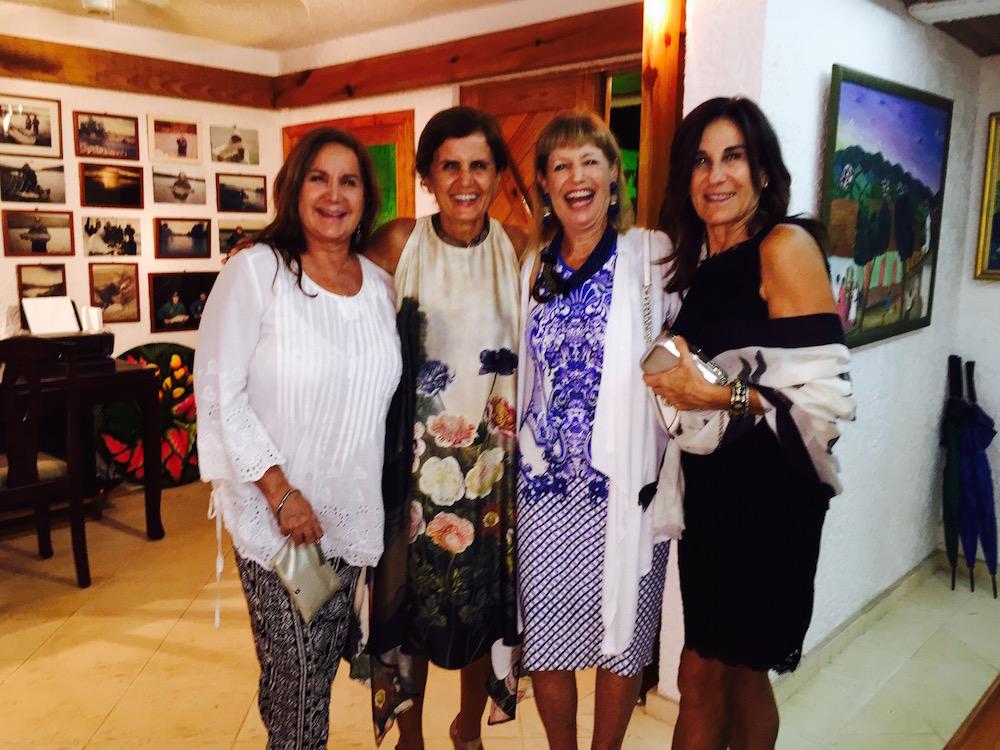 Bibi Leon, Marina Spadafora , Mignon Bellini and Laura Duffield