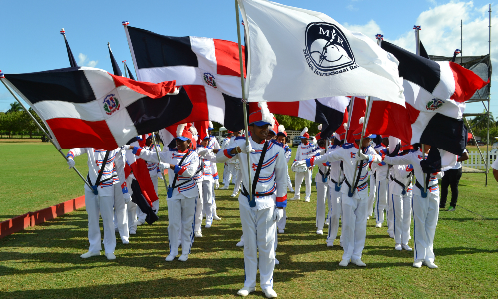 Dominican Flag — Semana Santa Polo Match