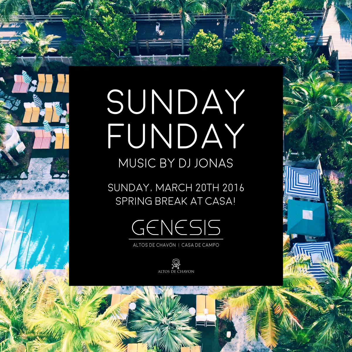 Genesis Spring Break Sunday Funday