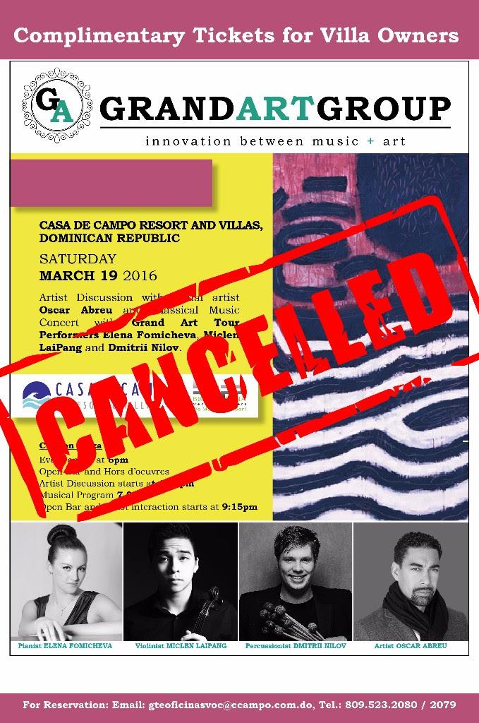 Grand Art Tour-canceled