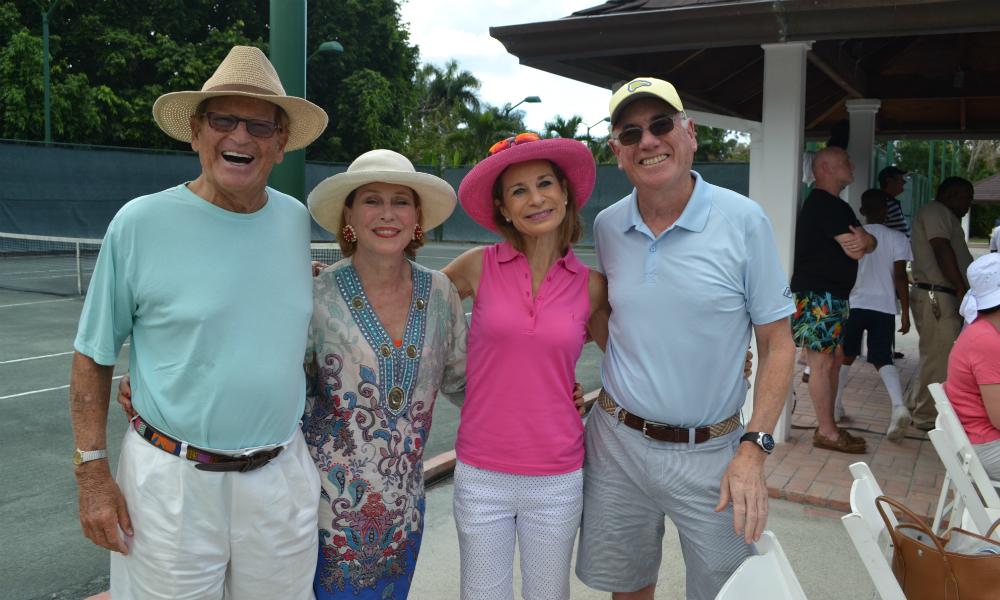 Group Photo — McDaniel Tennis Tournament Big Success