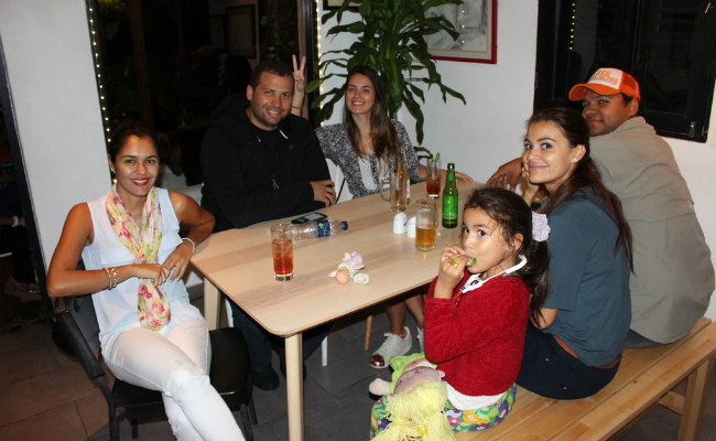 Group Photo - Sushi Happy Hour at La Cantina