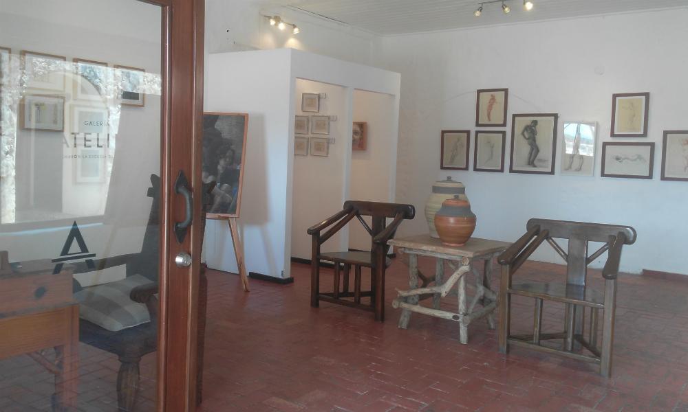 La Galeria Atelier - Inside