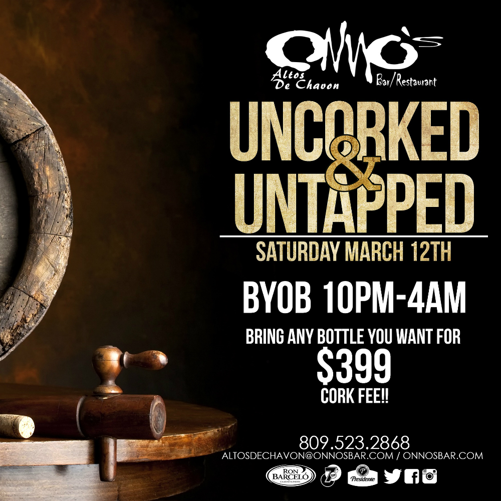 Onno's Bar Uncorked and Untapped